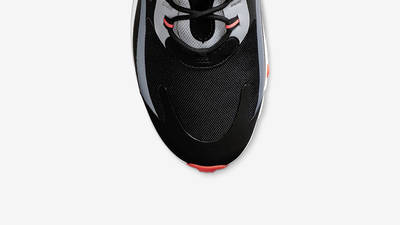 Nike Air Max 270 React Black Silver Red CT1646-001 middle