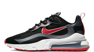 Nike Air Max 270 React Black Silver Red CT1646-001