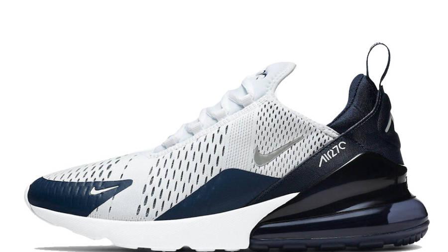 Nike Air Max 270 White Midnight Navy DH0613-100