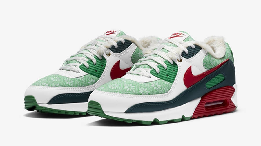 Nike Air Max 90 Christmas   Where To Buy   DC1607-100   The Sole ...