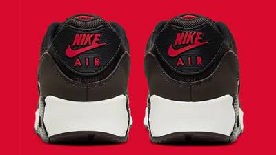 Nike Air Max 90 Velvet Brown University Red Back