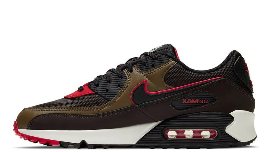 Nike Air Max 90 Velvet Brown University Red