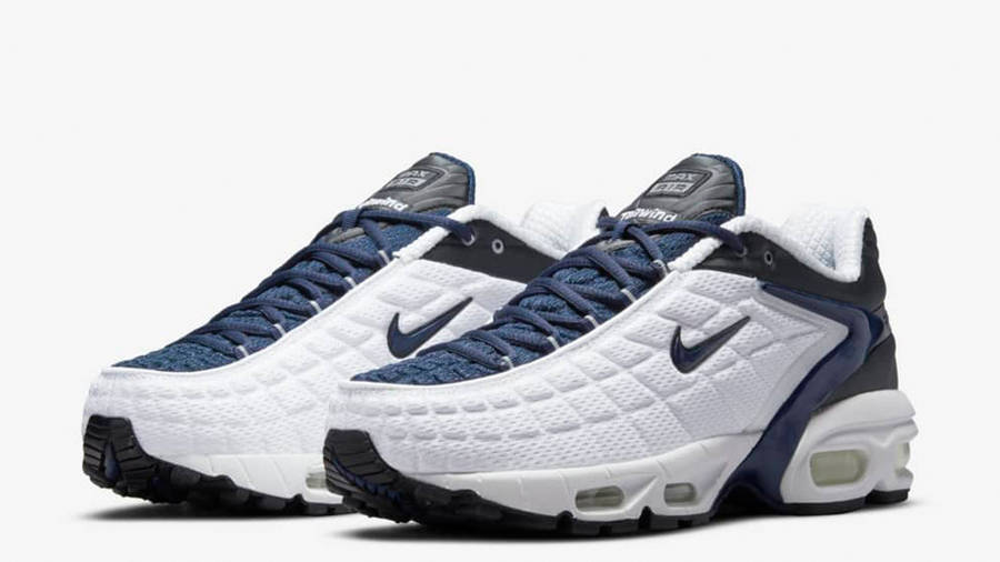 Nike Air Max Tailwind 5 SP White Navy Front