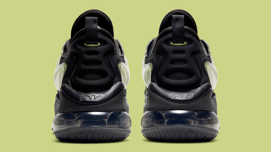Nike Air Max Zephyr Smoke Grey Lime Back