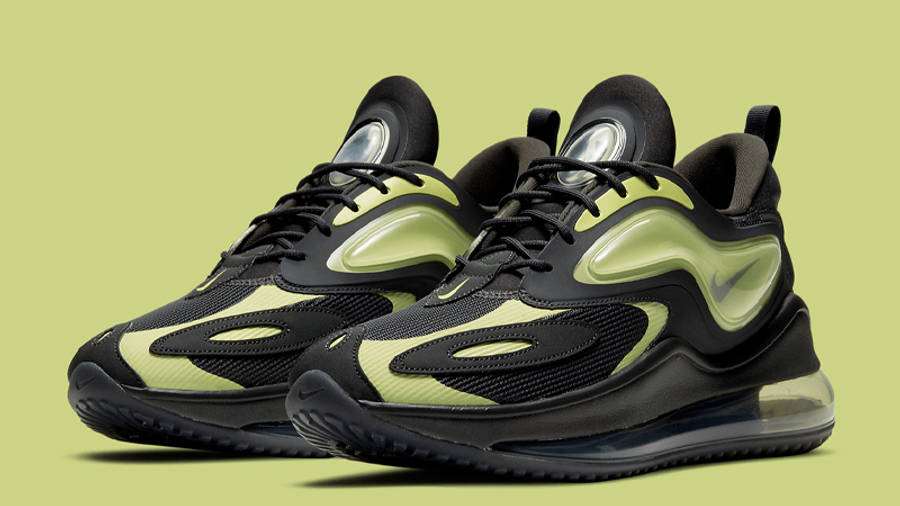 Nike Air Max Zephyr Smoke Grey Lime Front