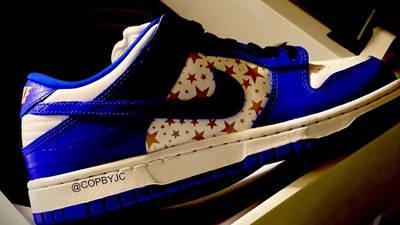 Nike SB Dunk Low Stars Hyper Blue First Look