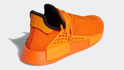 Pharrell x adidas NMD Hu Bright Orange Back
