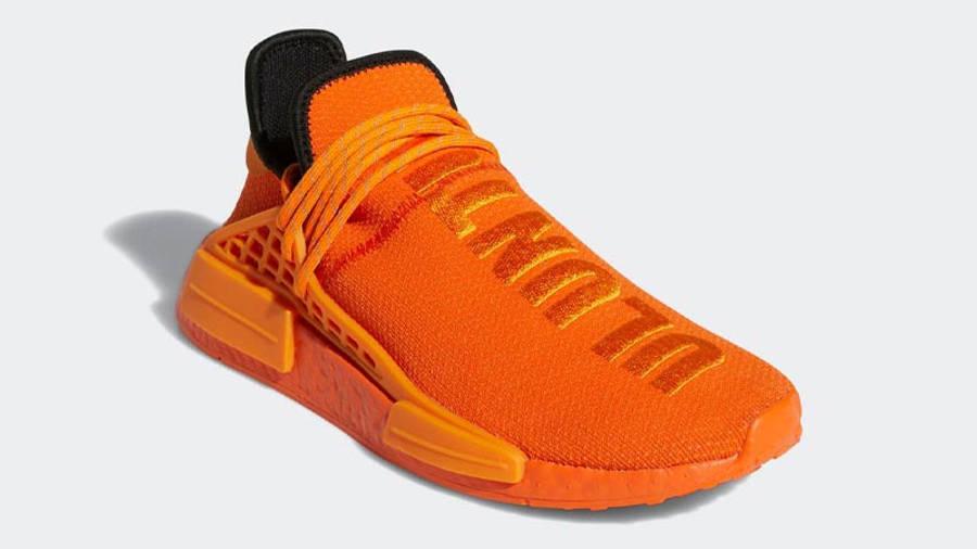 Pharrell x adidas NMD Hu Bright Orange Front