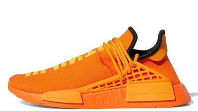 Pharrell x adidas NMD Hu Bright Orange