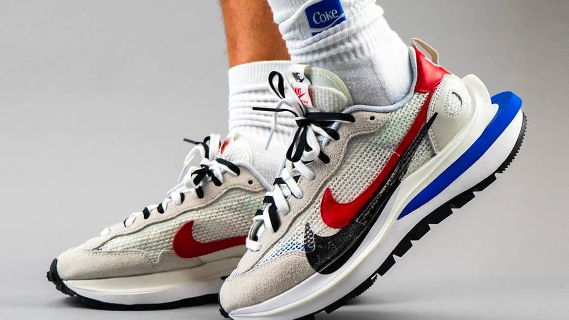 sacai x Nike VaporWaffle Sail Raffles | The Sole Supplier