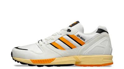 size x adidas ZX 5000 White Orange