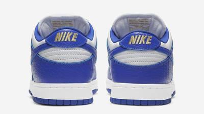 Supreme x Nike SB Dunk Low Stars Hyper Blue Back
