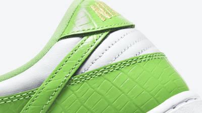 Supreme x Nike SB Dunk Low Stars Mean Green Back Closeup