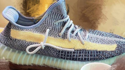 Yeezy Boost 350 V2 Ash Blue First Look