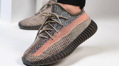 Yeezy Boost 350 V2 Ash Stone On Foot