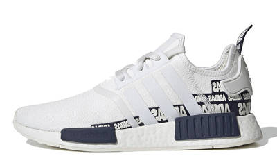 adidas NMD R1 V2 Overbranded Crystal White Navy | Where To Buy ...
