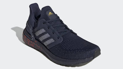 adidas Ultra Boost 20 Collegiate Navy Front