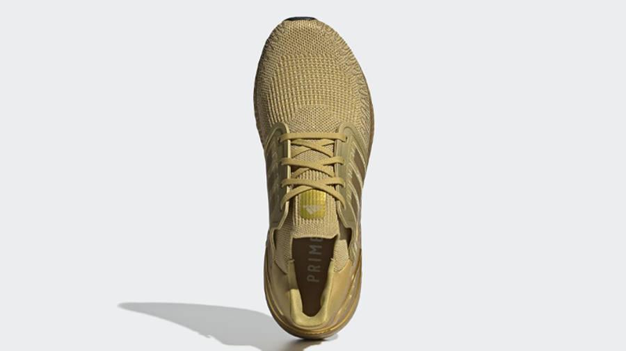 adidas Ultra Boost 20 Gold Metallic Middle