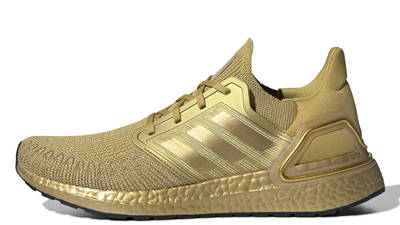 adidas Ultra Boost 20 Gold Metallic