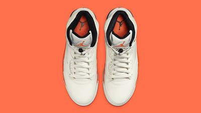 Air Jordan 5 Total Orange (aka Shattered Backboard) DC1060-100 Top