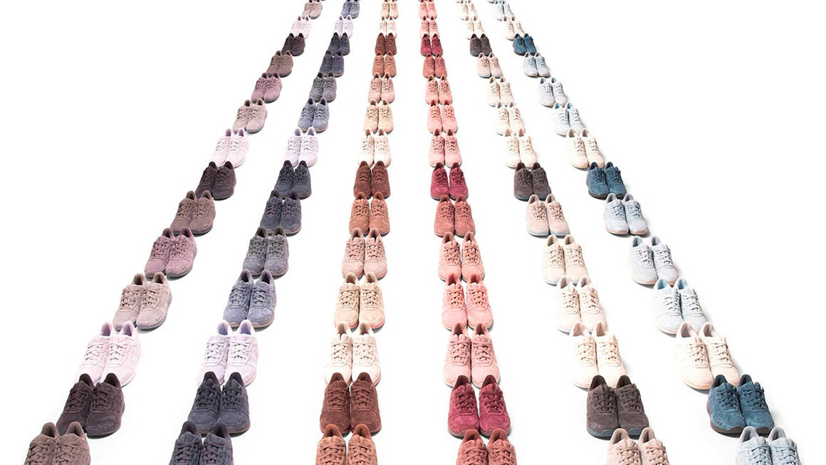 """The Ronnie Fieg x ASICS GEL-Lyte 3 """"The Palette"""" Collection Features 30 Clean Colourways"""