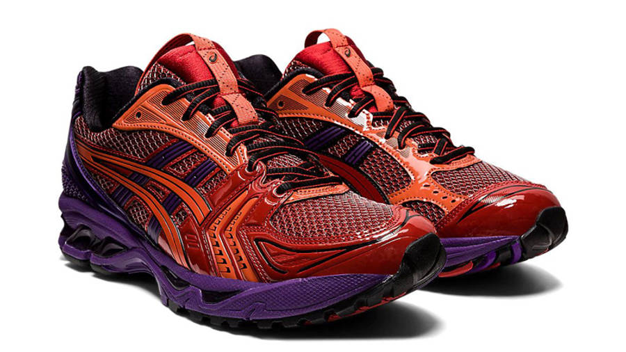 ASICS GEL-Kayano 14 UB1-S Classic Red Blue Front