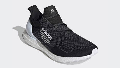 atmos x adidas Ultra Boost DNA Core Black White Front