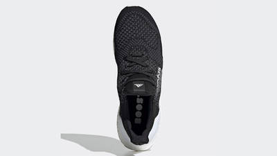 atmos x adidas Ultra Boost DNA Core Black White Middle