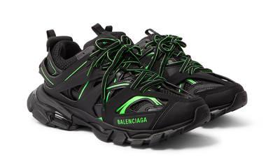 Balenciaga Track Black Neon Green Front