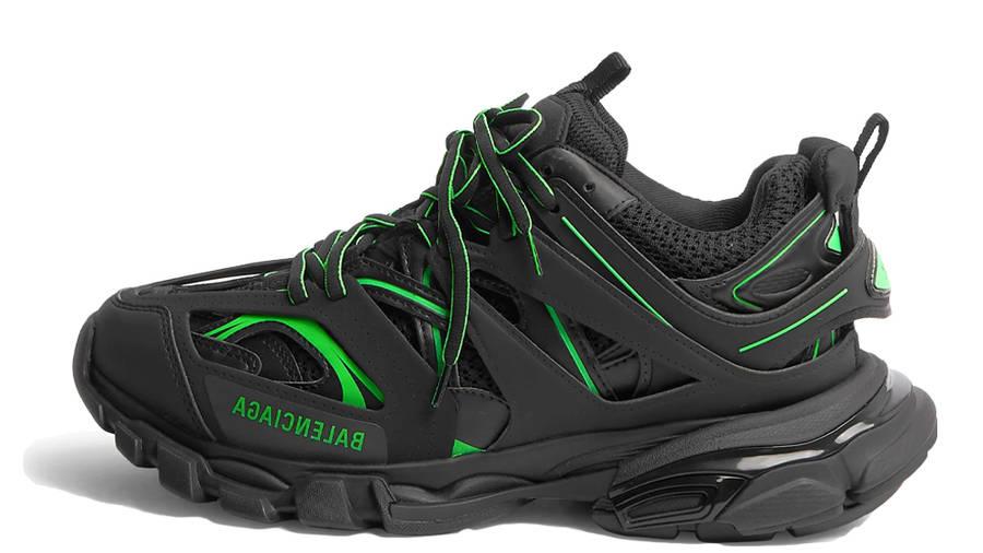 Balenciaga Track Black Neon Green