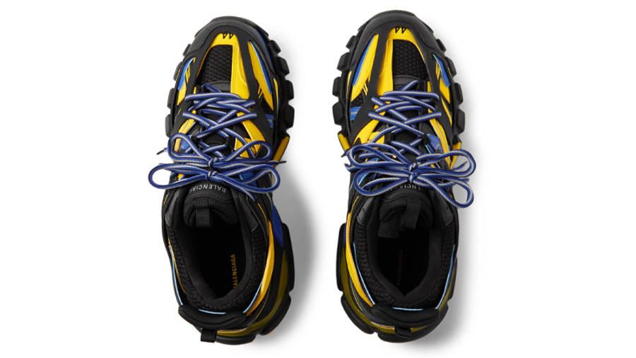 Balenciaga Track Black Yellow Blue Middle