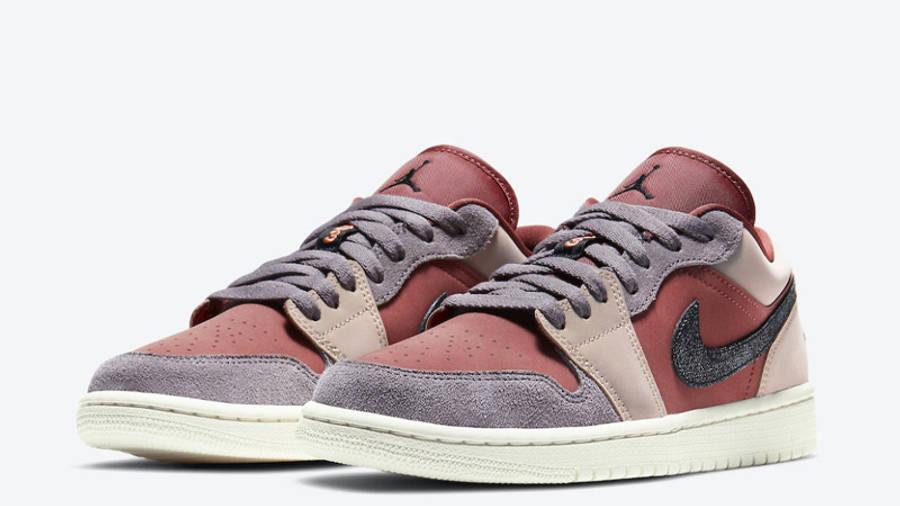 Jordan 1 Low Canyon Rust Front
