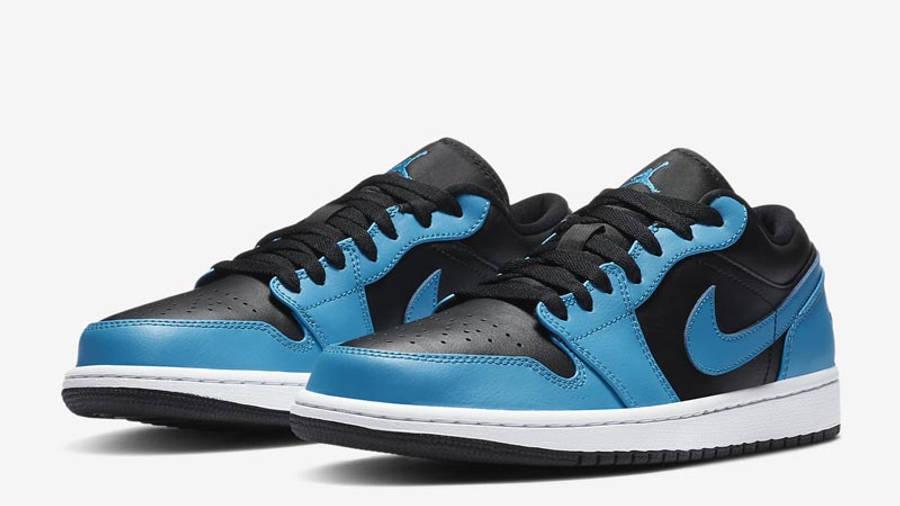 Jordan 1 Low Laser Blue Front