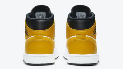Jordan 1 Mid University Gold Back