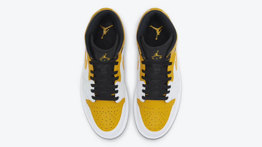 Jordan 1 Mid University Gold Middle