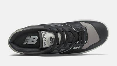 New Balance 550 Black Grey Middle