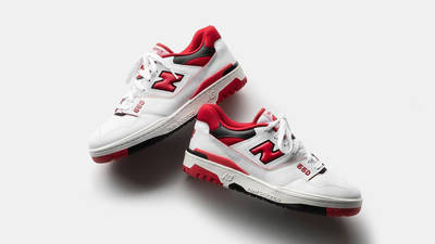 New Balance 550 Red First Look