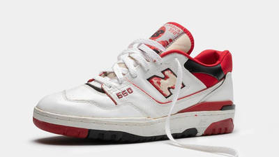 New Balance 550 Red Front