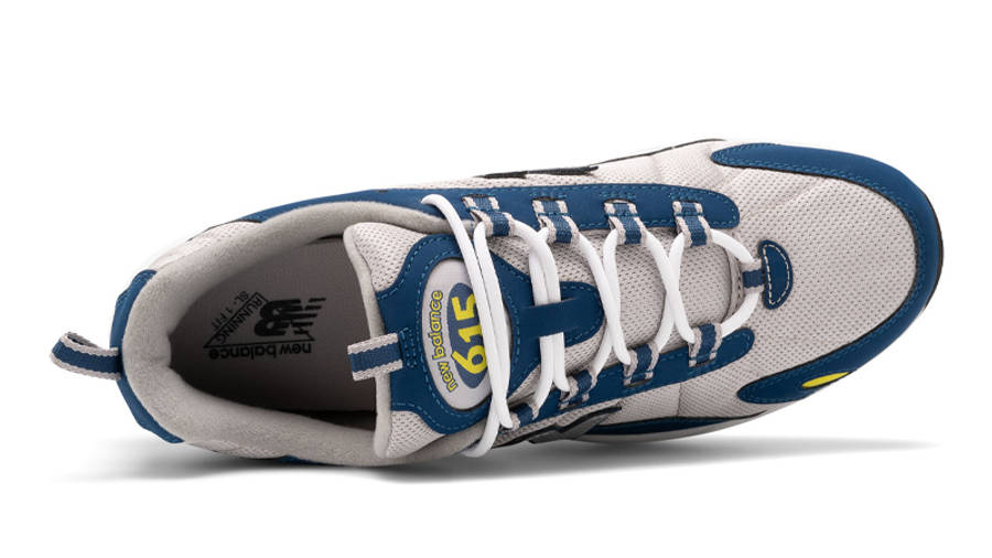 New Balance ML615NBS Blue Silver Middle