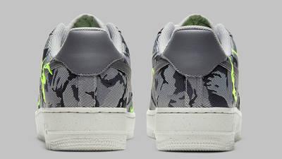 Nike Air Force 1 07 LX Light Smoke Grey Back
