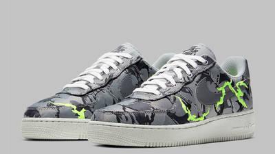 Nike Air Force 1 07 LX Light Smoke Grey Front