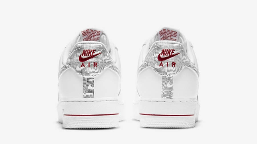 Nike Air Force 1 Low Topography Pack White DH3941-100 back