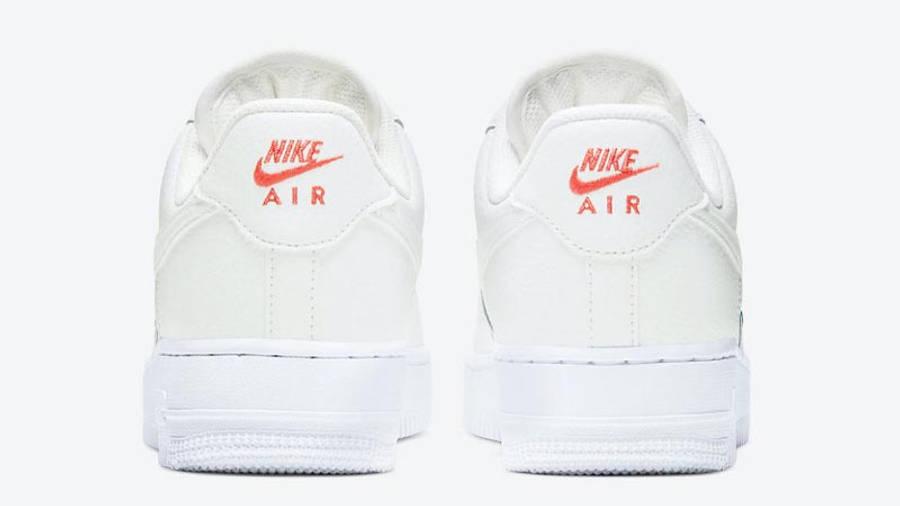 Nike Air Force 1 Mini Swoosh Summit White Back
