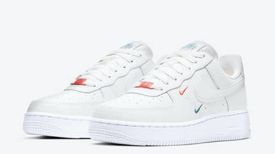 Nike Air Force 1 Mini Swoosh Summit White Front