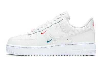 Nike Air Force 1 Mini Swoosh Summit White