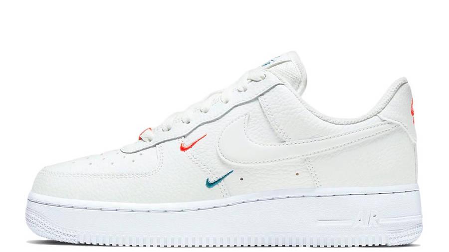 Nike Air Force 1 Mini Swoosh Summit White | Where To Buy | CT1989 ...