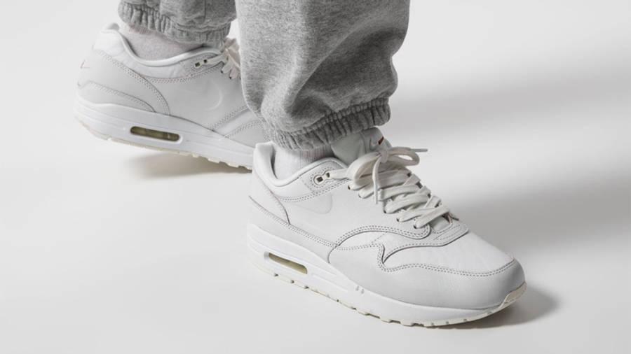 Nike Air Max 1 Summit White Sail On Foot