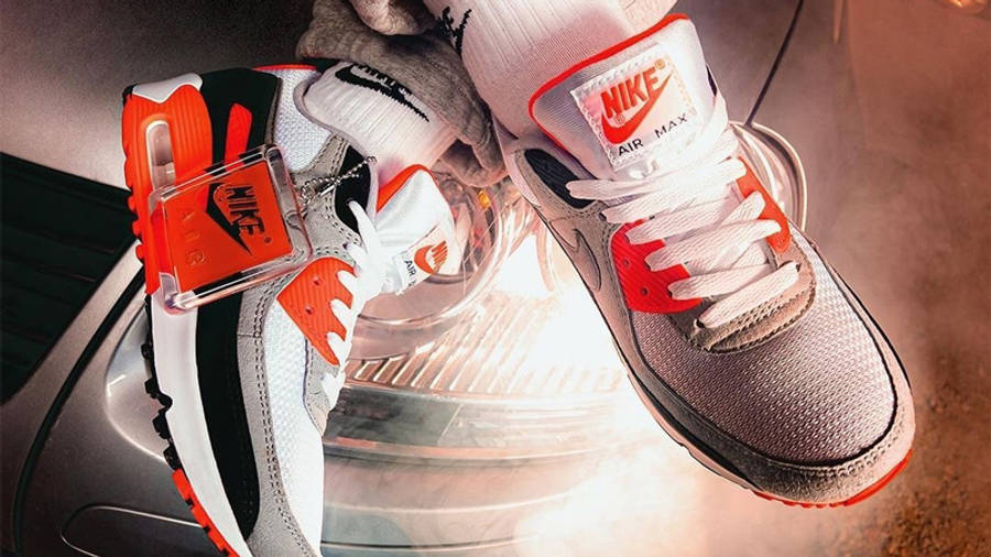 Nike Air Max 90 Infrared   Where To Buy   CT1685-100   The Sole ...