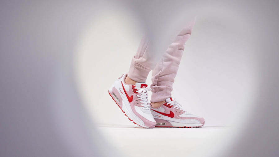 Nike Air Max 90 QS Valentines Day 2021 On Foot