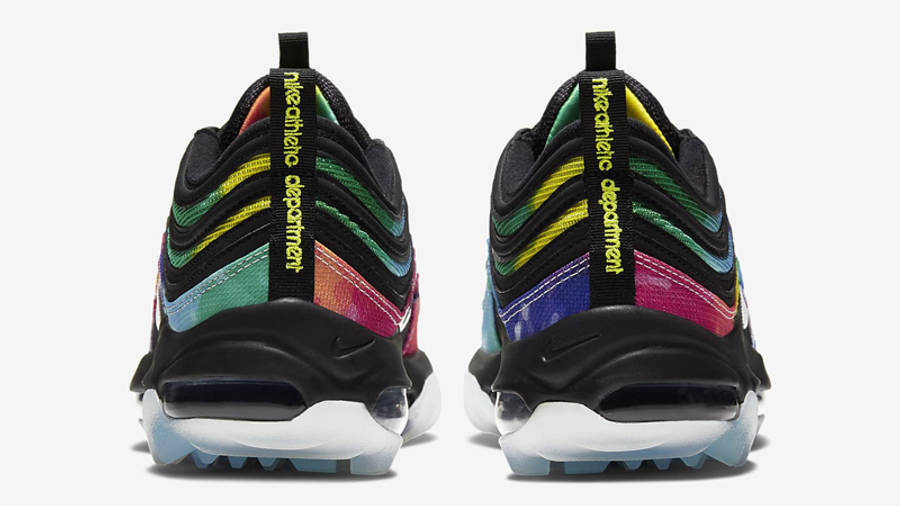 Nike Air Max 97 Golf Black Tie Dye Back